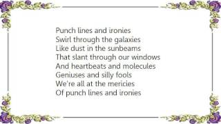 Chris Rice - Punch Lines and Ironies Lyrics