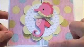 Seahorse Card #1 Create A Critter