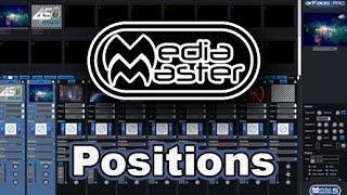 ArKaos MediaMaster Video Tutorial - 17. Positions
