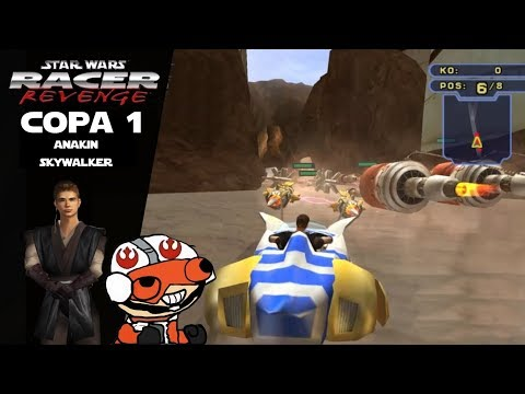 Un juego Retro infravalorado Star wars Racer Revenge PS4