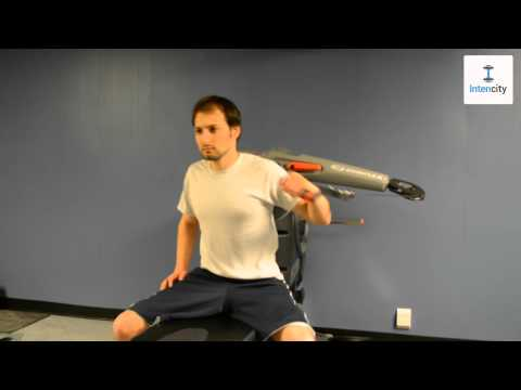 Intencity.fit - Cable One Arm Incline Push