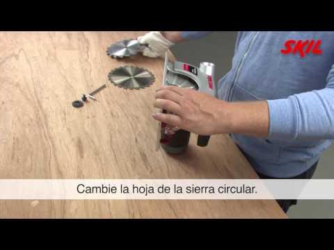 Cómo cambiar la hoja de una sierra circular