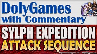 Wartune Gameplay Sylph Expedition Attack Sequence Guide & Boss 59 | COSMOS DolyGames