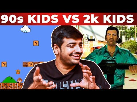 Super MARIO or GTA Vice City? Comedian Sathish's Ultimate Reply | 90s Kids vs 2k Kids | Boomerang