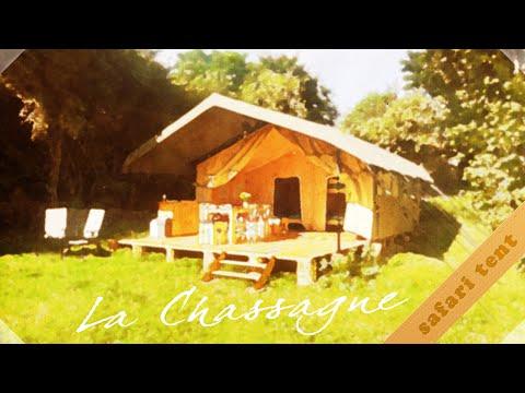 La Chassagne Safari Tent - Zorgeloos kamperen op Camping La Chassagne (Ronnet, Frankrijk)
