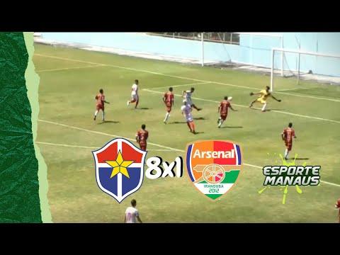 Fast Clube 8x1 Arsenal-AM