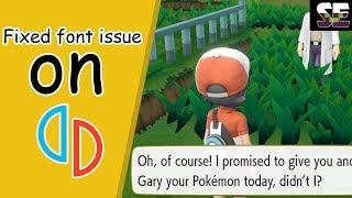 yuzu emulator pokemon lets go text fix - मुफ्त