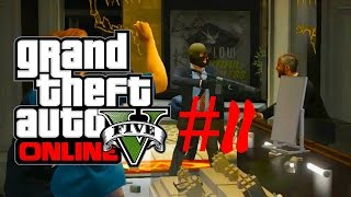 preview picture of video 'Grand Theft Auto V Heist #2 - Und Abgang'