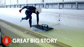 Olympic Skeleton Racers Pull 5g @ 90 mph