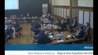 Afera podpisowa w Wieliczce. Radny publicznie mówi o fałszerstwie w urzędzie