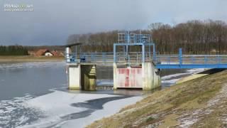 Zamrznjen ribnik na Podgradju in Gajševsko jezero
