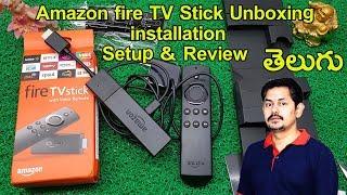 Amazon fire TV Stick: Unboxing, installation, Setup & Review | in Telugu |  Tech-Logic