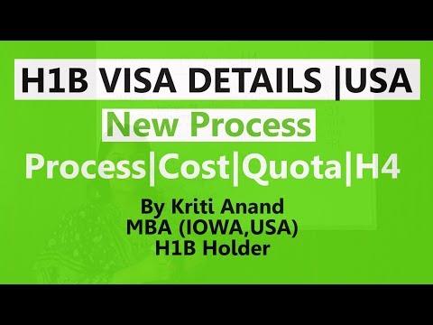 H1B visa|New Process|H4 Visa|Cost|Quota|Detailed Video|Career ...