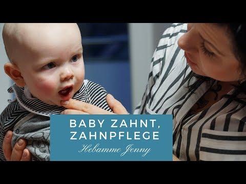 Baby zahnt, Zahnpflege, Hebammentipps