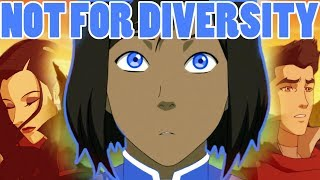 Why ALL your Characters Should be Bi (And it's NOT why you think) (ft Legend of Korra)