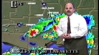 KLFY Eyewitness News Weather Bulletin 1998 Rob Perillo (second update