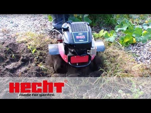 Hecht 755 Gartenfräse ,Motorhacke, Bodenfräse ,Kultivator,Fräse,Hacke Benzin B&S