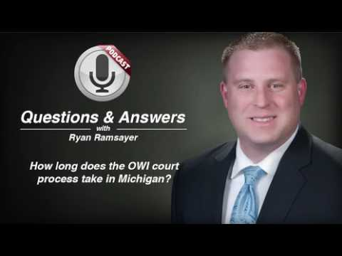video thumbnail Length of Michigan OWI Court Process