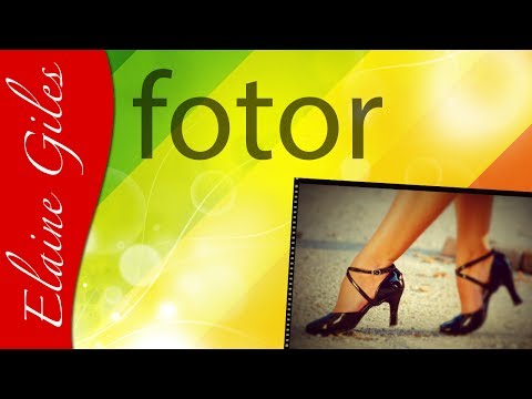 Fotor Photo Editor tutorial