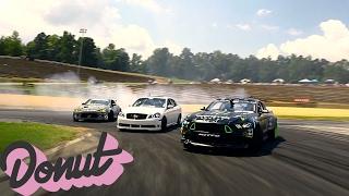 Best Drifting footage Ever? Gridlife Atlanta w/ Drift Alliance   Donut Media