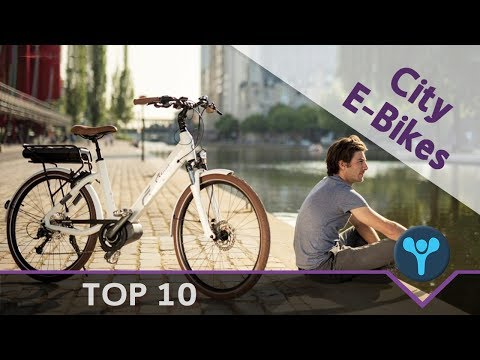 Top 10 Ηλεκτρικά ποδήλατα πόλης