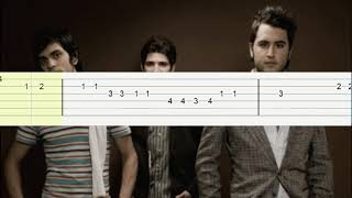 Me duele amarte - Reik/Tutorial guitarra(Melodia)/Tablatura