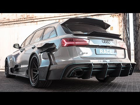 WIDE AS FXXK Audi RS6 Avant quattro Ft. ARMYTRIX Exhaust and ADV1 Wheels By Race! South Africa