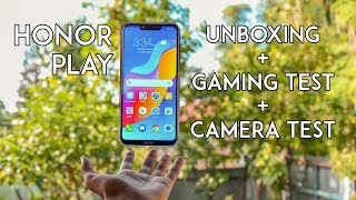 Honor Play Indian Retail Unit Unboxing, Gaming Test and Camera Test!!