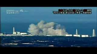 후쿠시마 1,3호기 수소폭발 장면