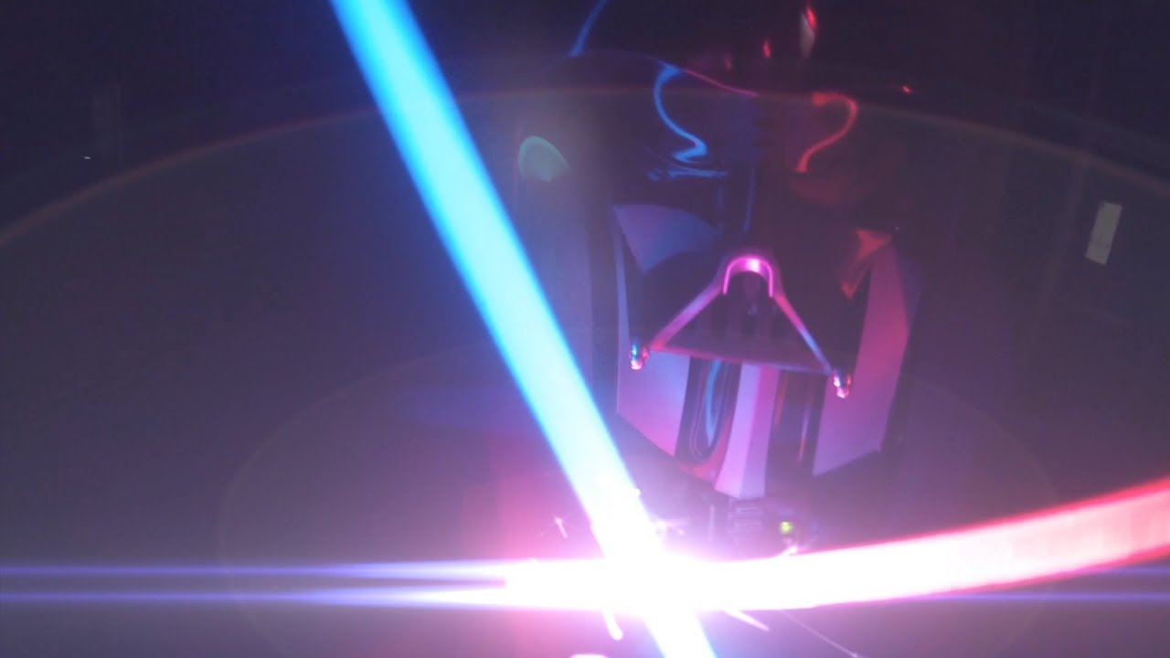 First-Person Lightsaber Battles Are Incredible