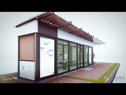 AIRCONDITIONED BUS SHELTER VIDEO PRESENTATION