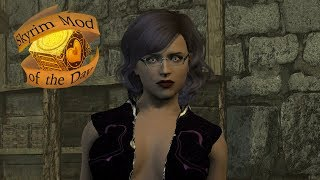 Skyrim Mod of the day: ImoMegane - Glasses