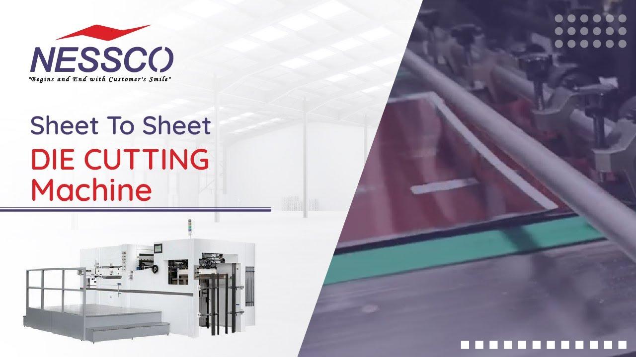 Sheet Feed Die Cutting Machine   Supplier & Exporter   Nessco