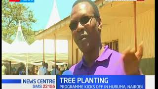 News Centre: Tree planting programme by WWF going on at Huruma,Nairobi