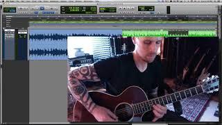"""Guitar Lesson - Eric Clapton's """"Layla"""" Acoustic - SOLOS"""