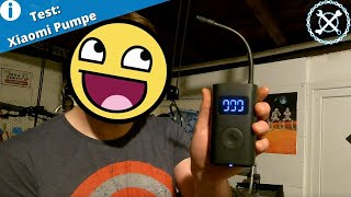 Test der Elektrischen Luftpumpe Xiaomi Mijia - Wie lange braucht sie für einen Reifen?