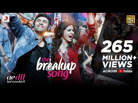 Download The Breakup Song - Ae Dil Hai Mushkil |  Latest Official Song 2016 | Pritam | Arijit I Badshah HD Video