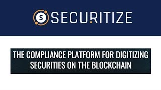 Securitize - A Platform for Security Token Offerings (STO) - Interview with Co-Founder Jamie Finn