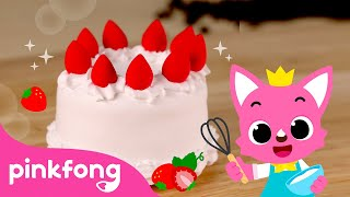 🎂 How to make Cream Cake with Clay   Clay Bakery   Pinkfong Clay Time