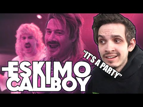 Metal Musician Reacts to Eskimo Callboy feat. Sasha | Hypa Hypa |
