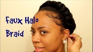Summer Stylin| Faux Halo Braid