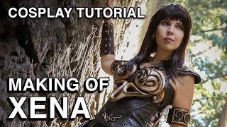Warrior Princess Xena - Making of Cosplay Tutorial