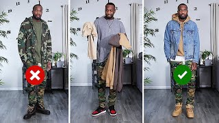HOW TO STYLE CAMO | Mens Fashion Tips | Outfit Inspiration | I AM RIO P.
