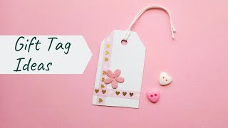 6 DIY Gift Tags For Teachers Day | Easy #GiftTag Ideas | Thank You Gift Tags For #Teachers Day
