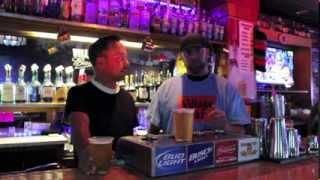 The Village Bar...BOTTOMS UP!