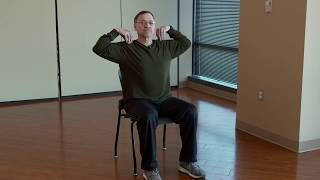 Relieve shoulder stress in 60 seconds