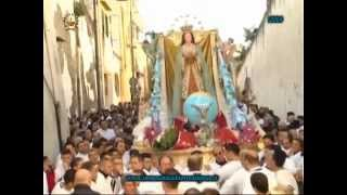 preview picture of video '8 12 2014 Processione del Carro dell'Immacolata a Torre del Greco 2a parte'