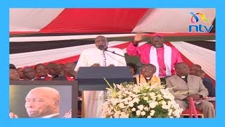 Moi was ready for death: Bishop