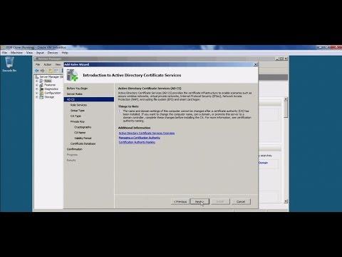 Server 2008 - Creating certificates in Windows Server 2008 using ...