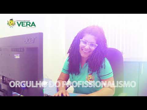 Homenagem ao Servidor Público Municipal Vera pelo seu dia.